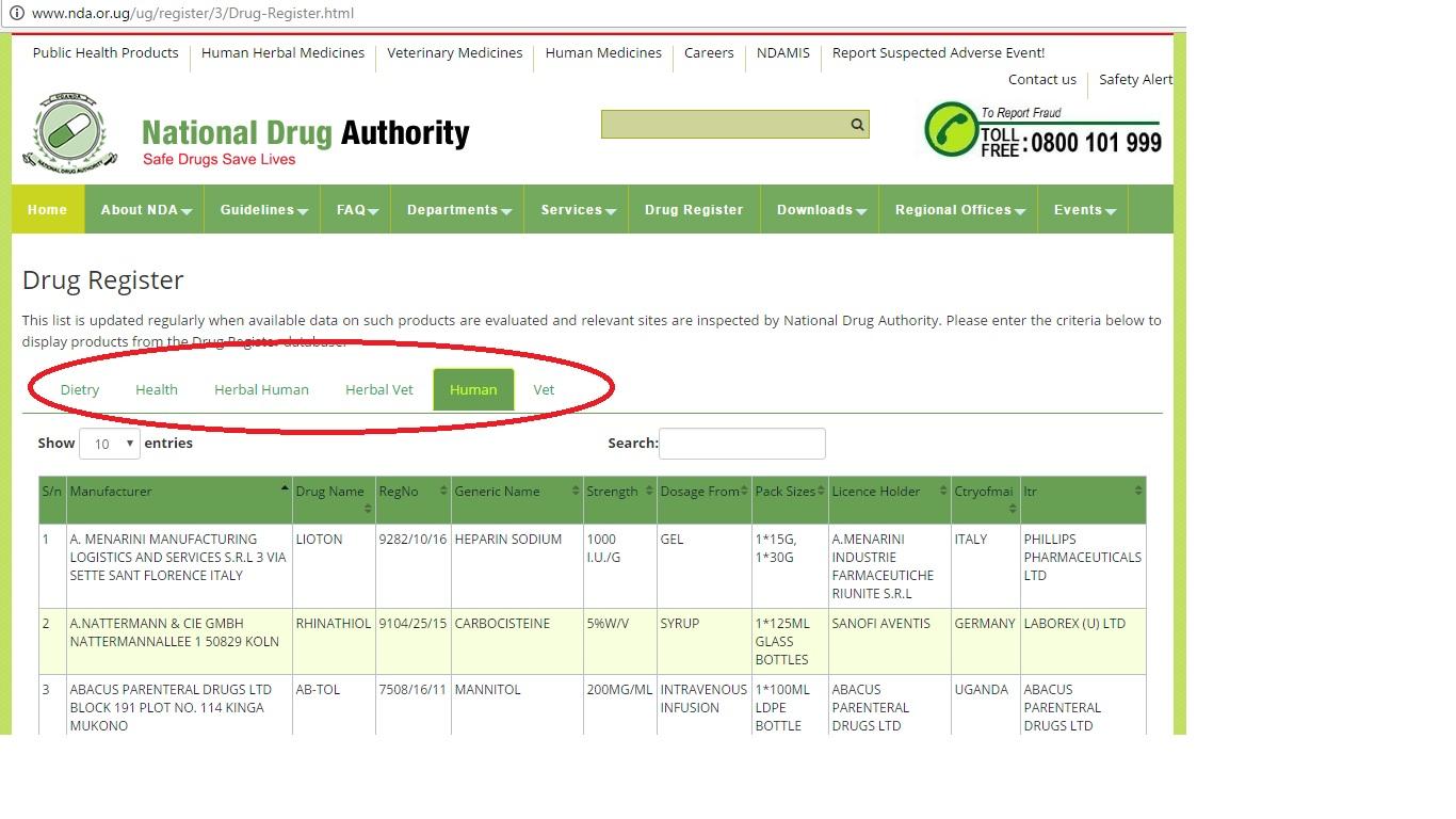 national drug authority uganda application form