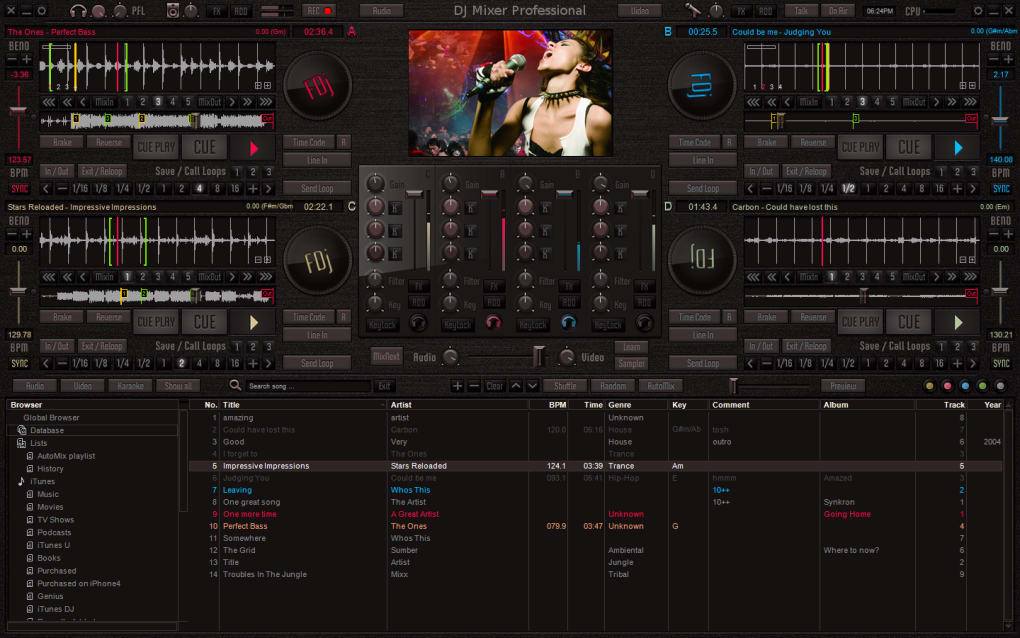 music mixer application for pc
