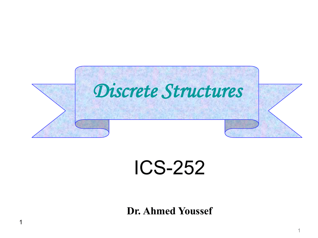 applications of discrete mathematics in computer science ppt