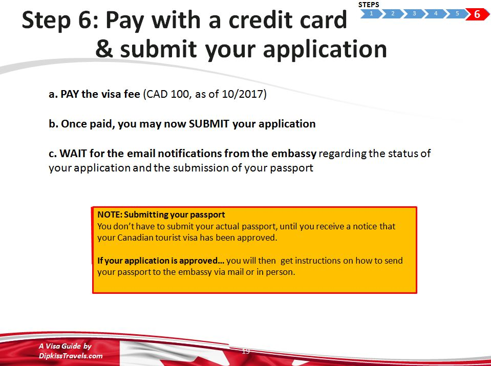 canadian passport application canada post