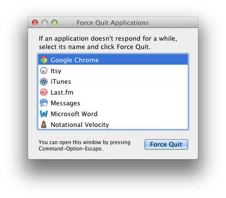 how to force quit multiple applications