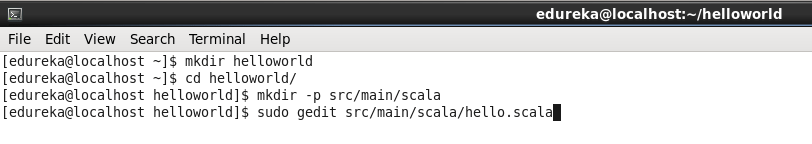 run scala application in eclipse