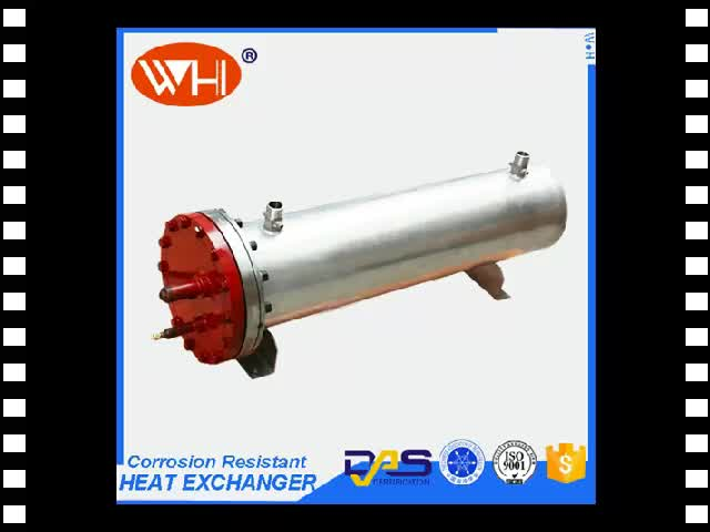 application shell and tube heat exchanger