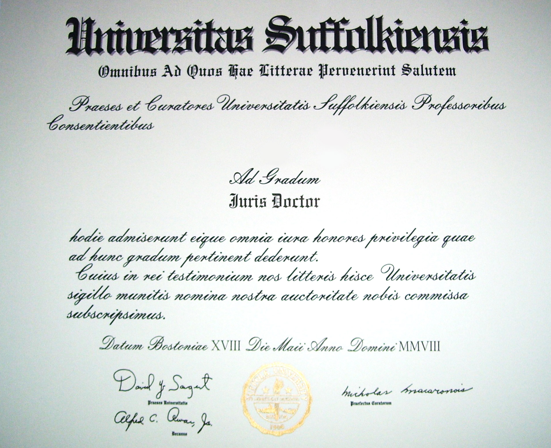 wht does faculty signature mean on university applications