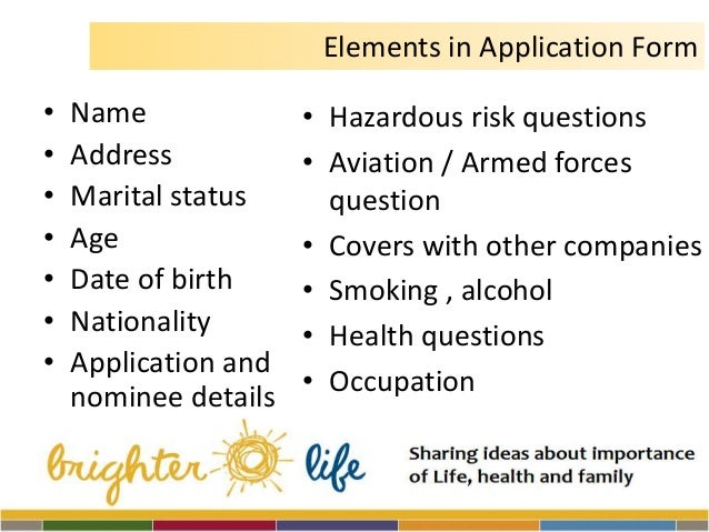 sun-life life insurance application in canada