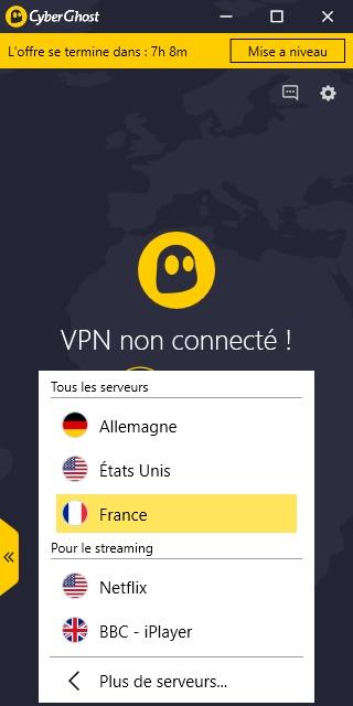 une application de mot de passe pour le vpn