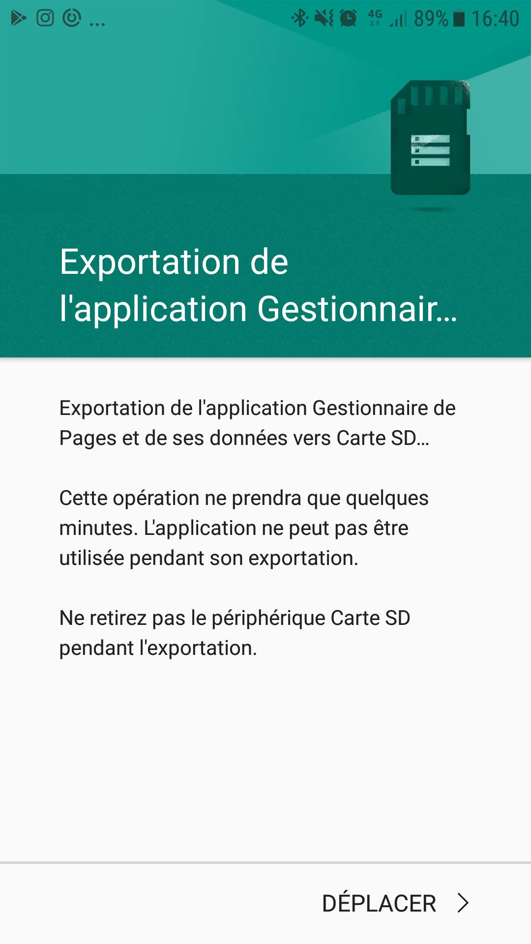 android lollipop installer application sur carte sd par defaut