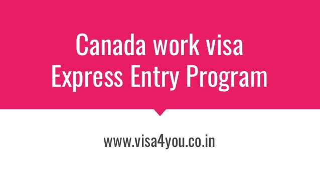 canada express entry application work history