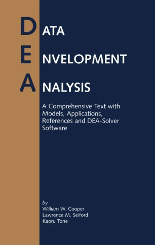 data envelopment analysis a comprehensive text with models applications