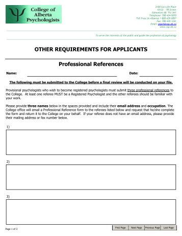 college of alberta psychologists application