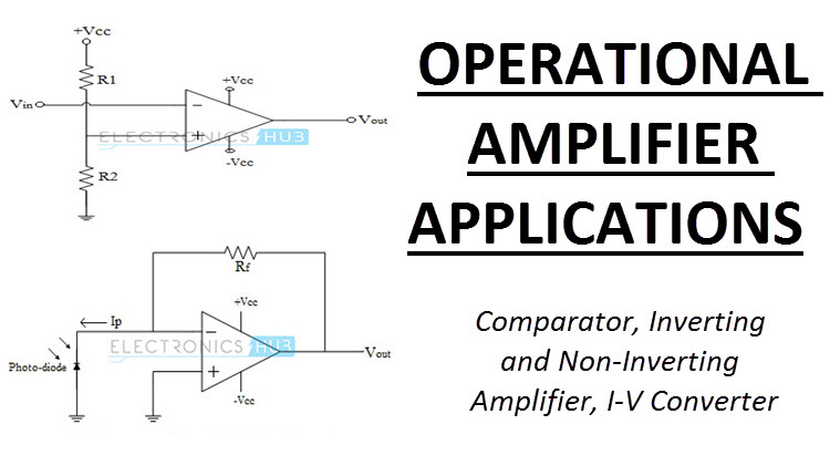 analog electronics basic op amp applications