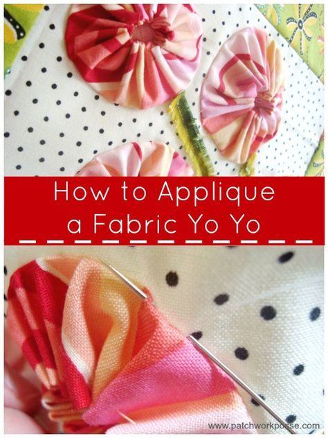 can you appliques over quilting