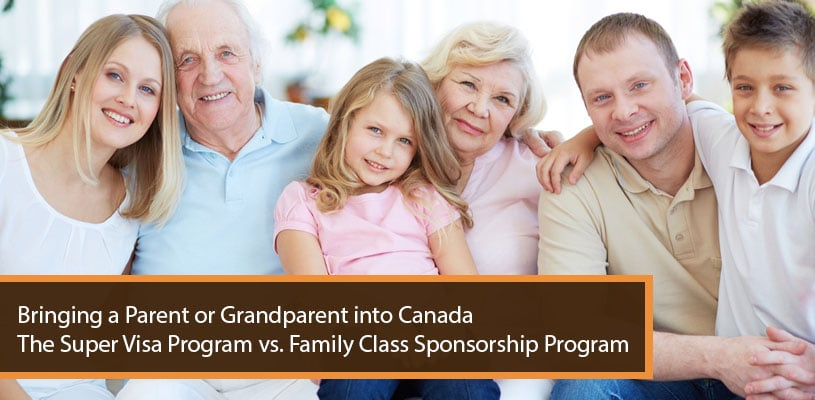 application for sponsorship of family canada