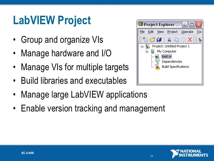labview 8.6 application builder