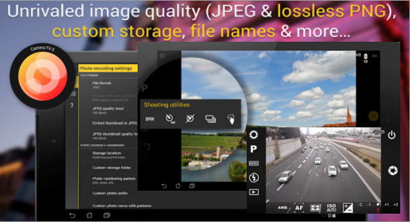 application android pour camera rca
