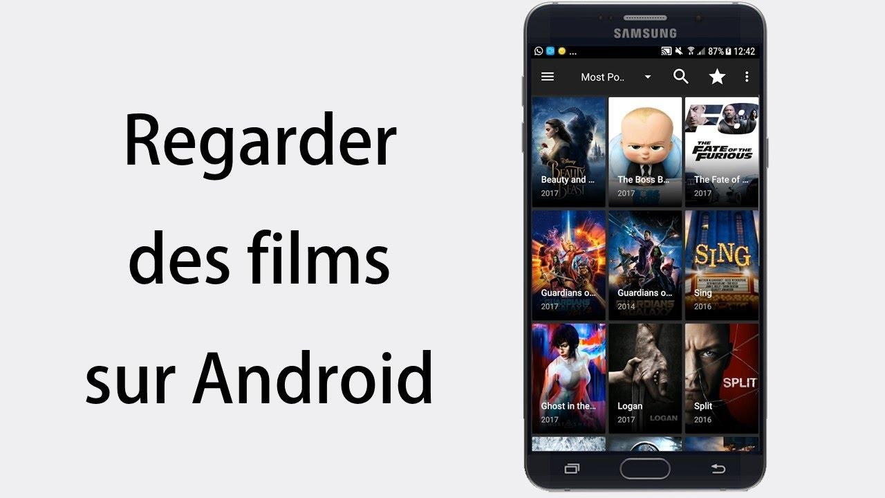 application android regarder film gratuit
