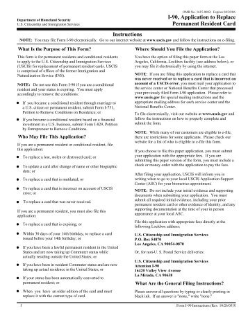 application for a permanent residence card eea4