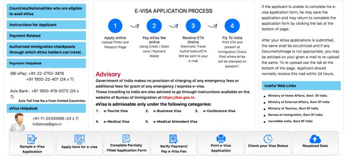 application for indian visa visa from toronto