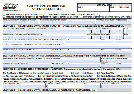application for registration mto vehicle form