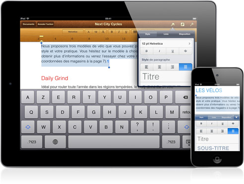application gestion de taches ipad