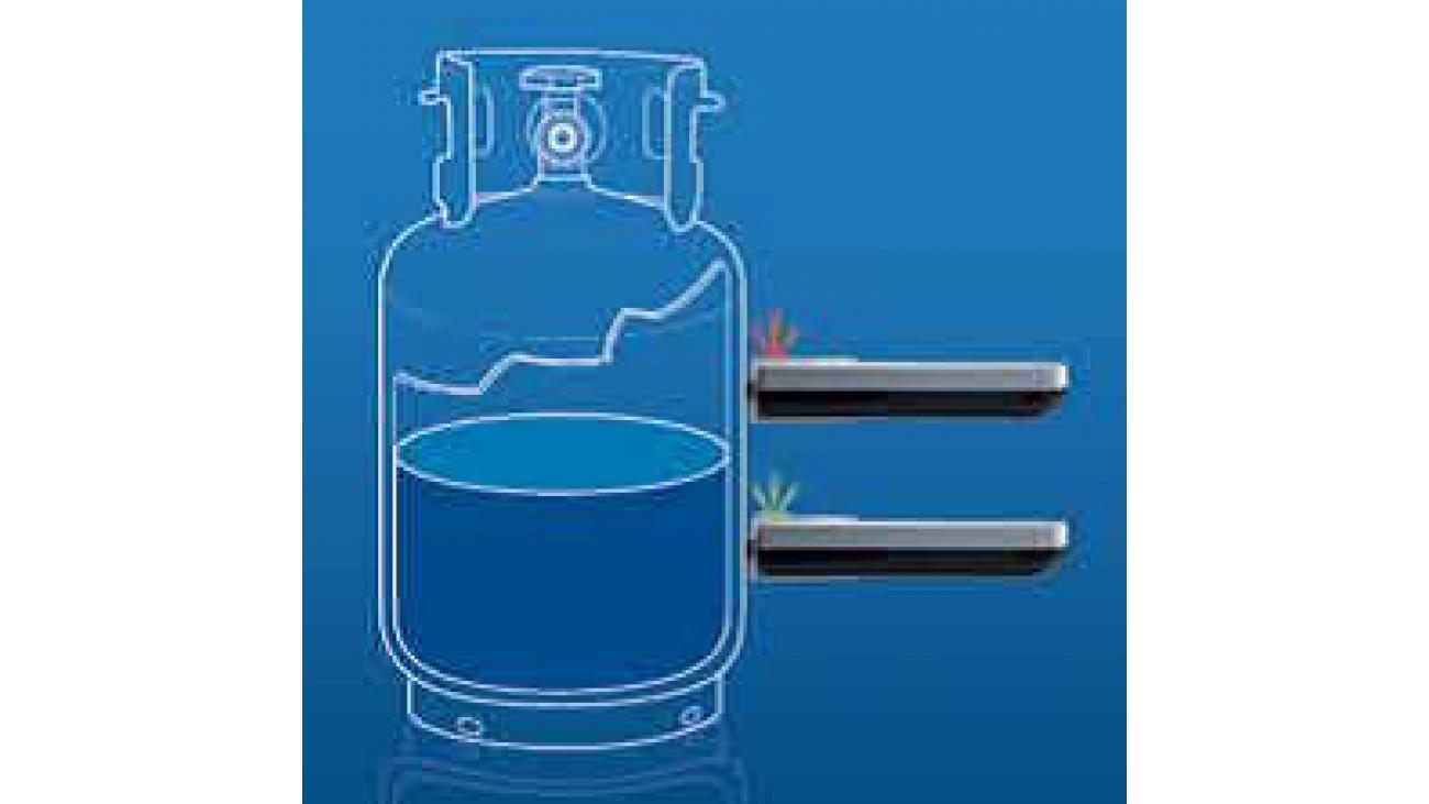 application indicateur de niveau de propane