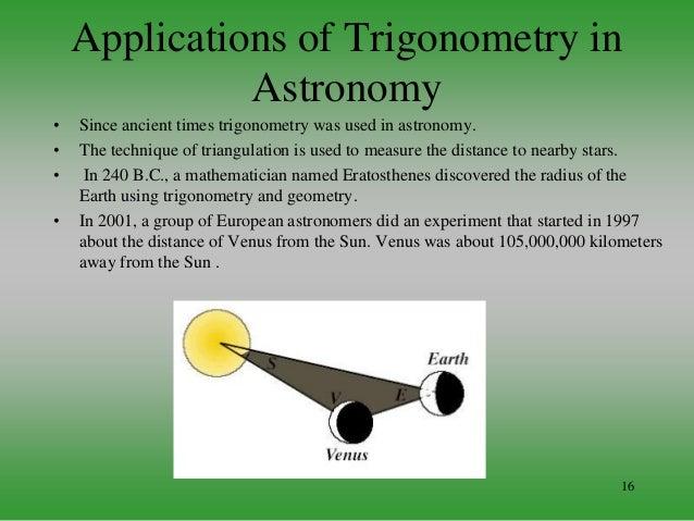 application of trigonometry in surveying