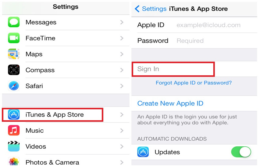 application on iphone without itune