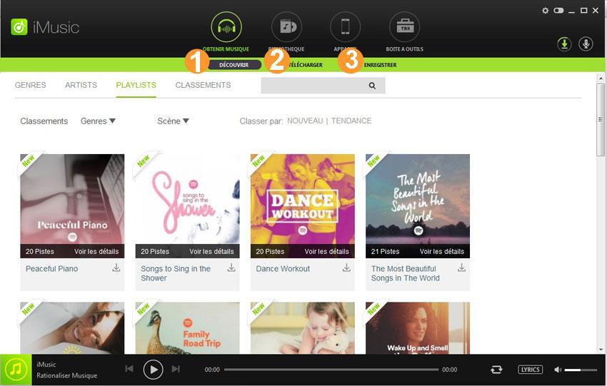 application pour telecharger les musique sur android