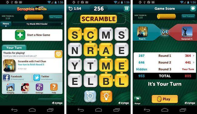 application pour trouver les mots au scrabble