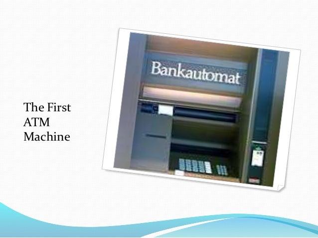 applications menu on debit machine