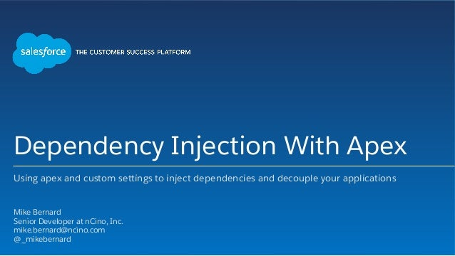 dependency injection c console application