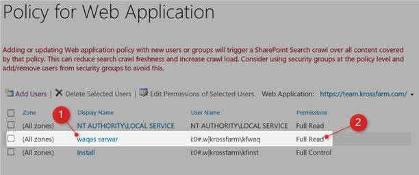 microsoft sharepoint foundation web application central administration
