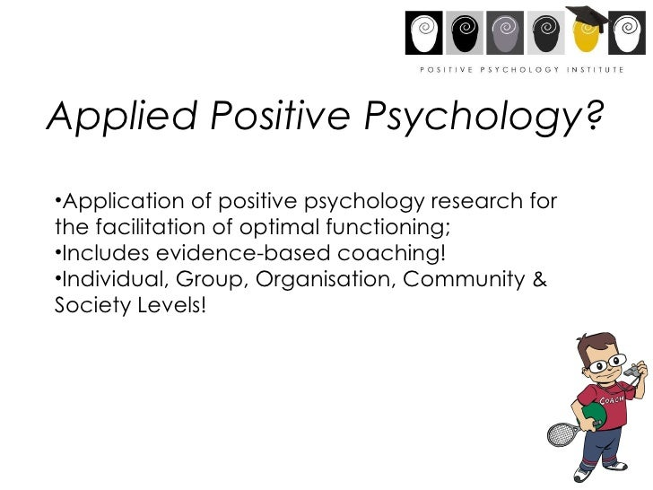 application of positive psychology in ageing