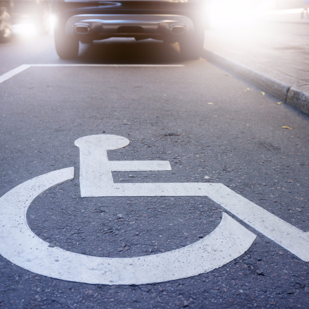 application for handicapped parking permits