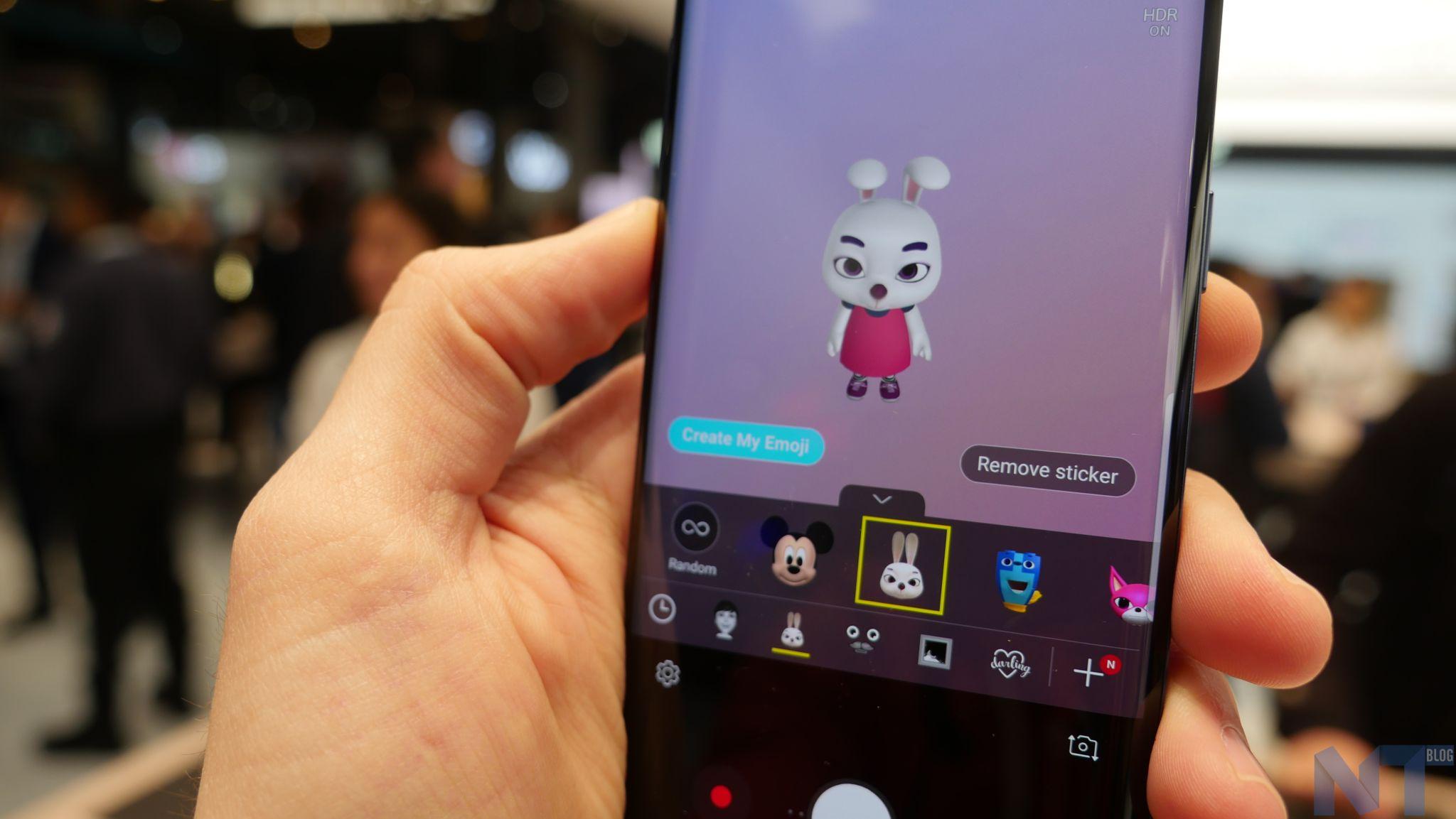 application createur de mon emoji samsung