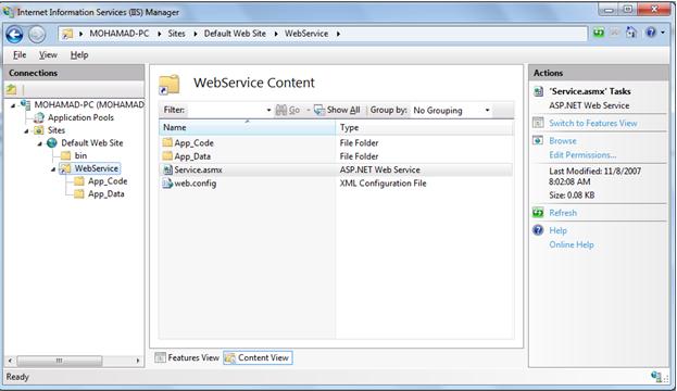 windows server convert application to service
