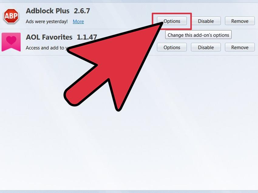 comment appliquer et bloquer un site avec adblock