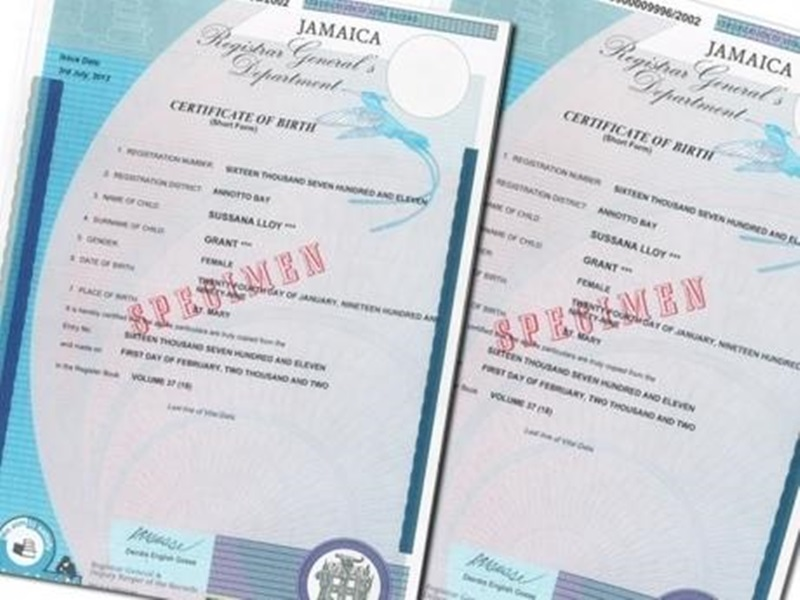 birth event certificate application bc