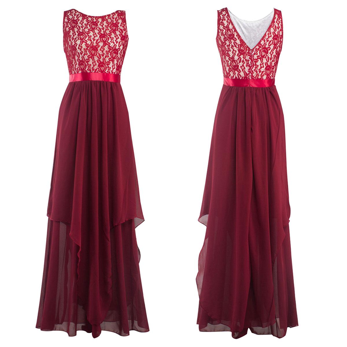 ebay formal applique chiffon prom ball gown evening