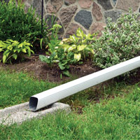 application exemption for downspout disconnection