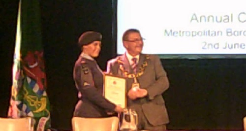 cadet of the year award application