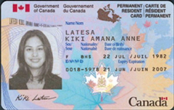 canada pr card application fee