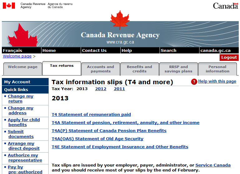 canada revenue agency old age pension application form online