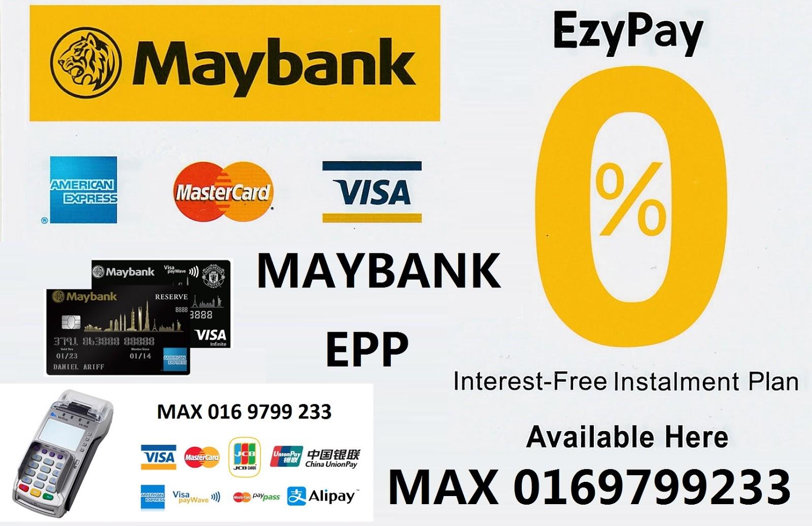 maybank credit card application form