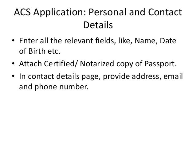 cic permanent residency application birth certificate copy