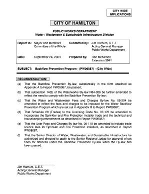 city of hamilton severance application