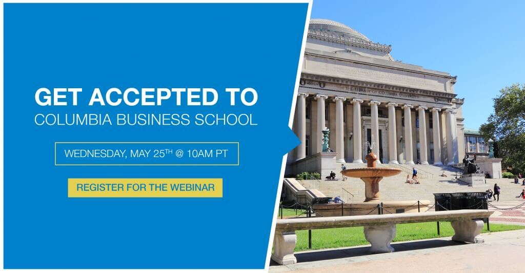 columbia business school application questions