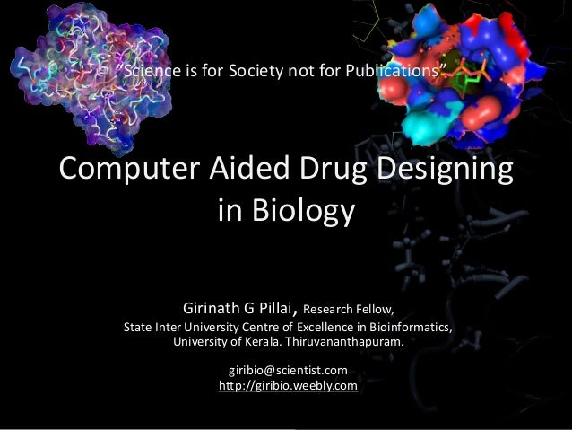 computer aided drug design applications