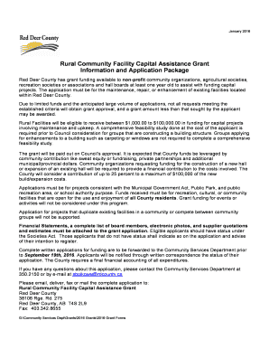 county of red deer rural address application form