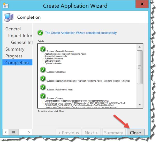 create application packages in sccm